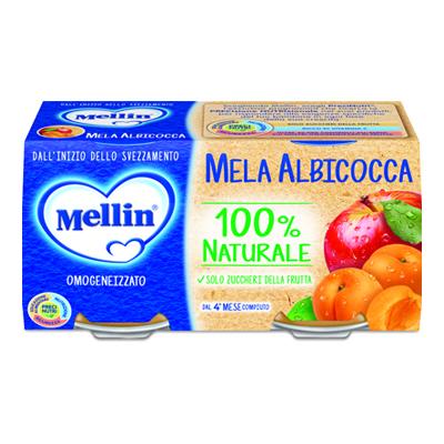 MELLIN OMO GR.100X2 ALBICOCCA