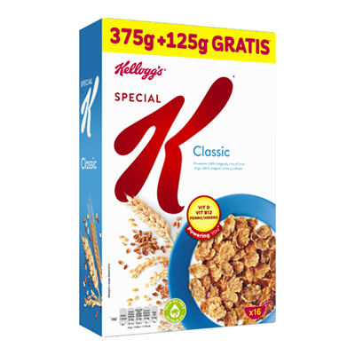KELLOGG'S SPECIAL K GR.375+125OMAGGIO