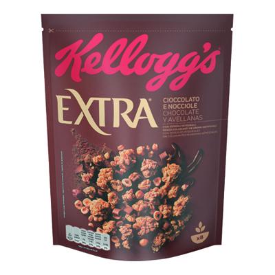 KELLOGGS EXTRA CIOCCOLATO E NOCCIOLE GR.375