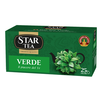 STAR TEA VERDE X 25 FILTRI