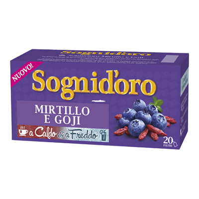 SOGNI D'ORO INFUSO MIRTILLO &GOJI X20