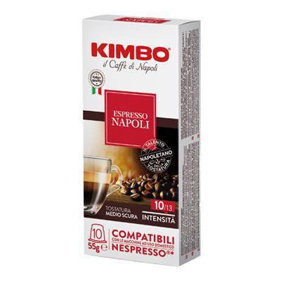 KIMBO CAPSULE X10 NAPOLI NESPRESSO COMPATIBILI