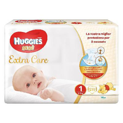 HUGGIES EXTRACARE TG.2 KG.3-6PZ.24
