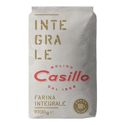 CASILLO FARINA INTEGRALE KG.1GRANO TENERO