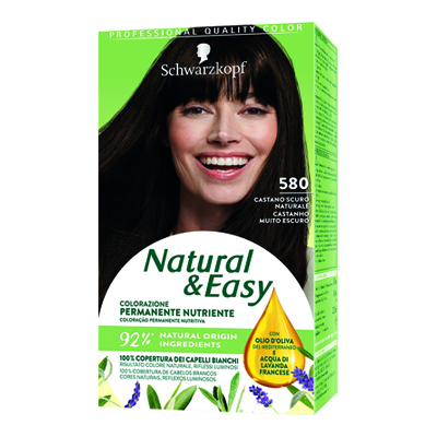 NATURAL & EASY 580 CASTANO SCURO