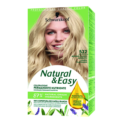 NATURAL & EASY 520 BIONDO ARGENTO