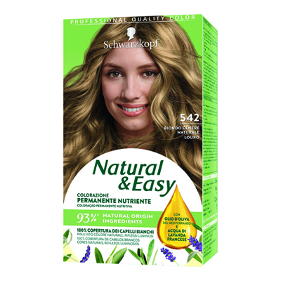NATURAL & EASY 542 BIONDO CENERE