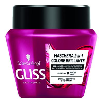 GLISS MASCHERA COLORE BRILLANTE ML.300