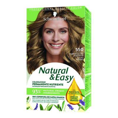 NATURAL & EASY 550 BIONDO SCURO NATURALE