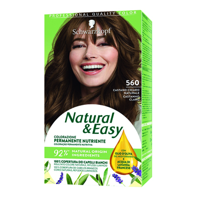 NATURAL & EASY 560 CASTANO CHIARO
