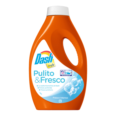 DASH SIMPLY LIQUIDO FRESCO INTENSO 18 LAVAGGI
