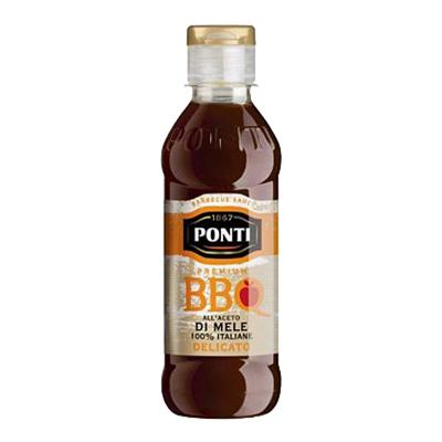 PONTI BBQ ACETO DI MELE 100%ITALIANE GR.250