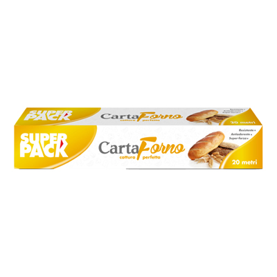 SUPER PACK CARTA FORNO MT.20