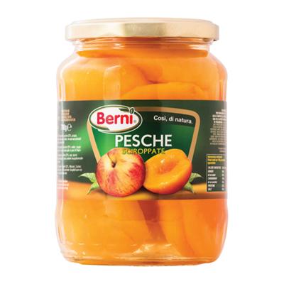 BERNI PESCHE ALLO SCIROPPO GR.700