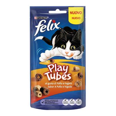 FELIX PLAY TUBES POLLO E FEGATO GR.50
