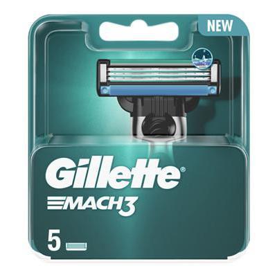 GILLETTE RICARICHE MACH 3 STANDART X5