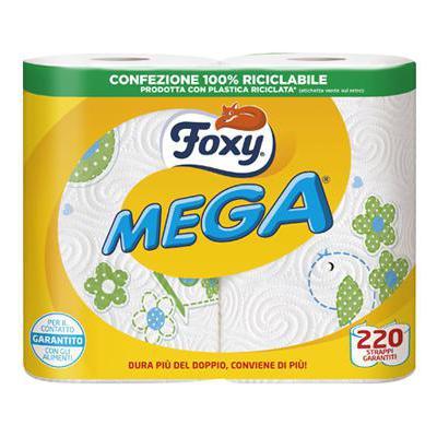 FOXY MEGA CARTA CUCINA 2 ROTOLI 2 VELI            COD.237/06