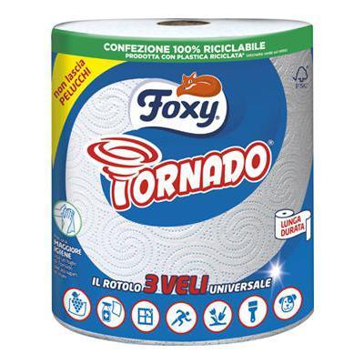 FOXY TORNADO ASCIUGATUTTO X1 ROTOLO 3 VELI