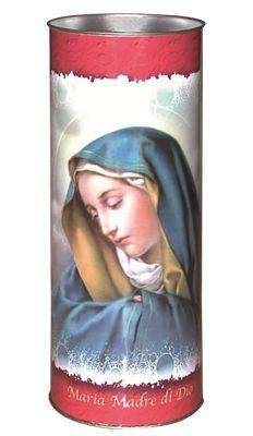 CAU CERO VOTIVO T.80 MARIA MADRE DI DIO