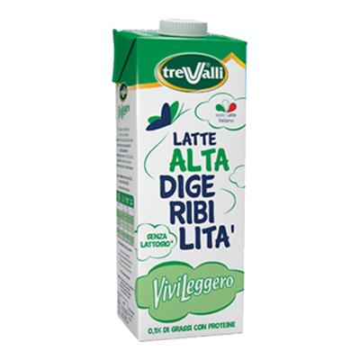 TREVALLI LATTE LT.1 VIVI LEGGERO CON PROTEINE