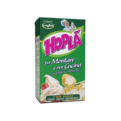 HOPLA'PREPARATO VEGETALE LT.1PER PANNA DA MONTARE E PER CUC