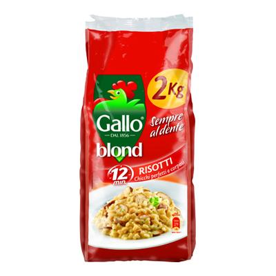 GALLO BLOND RISOTTI KG.2  GRANGALLO