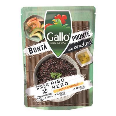 RISO GALLO BONTA'PRONTE GR.220VENERE/VERDURE/POLLO IN 2 MIN