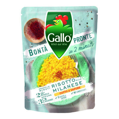 GALLO EXPRESSO MILANESE GR.250RISO PARBOILED