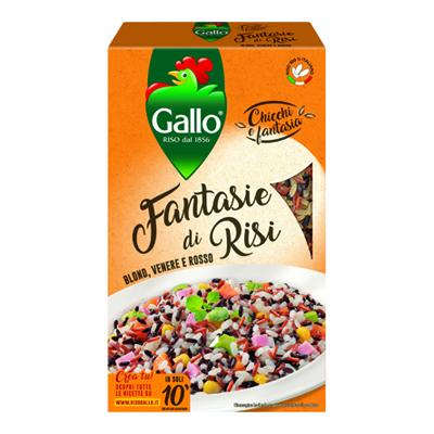 GALLO FANTASIE DI RISI GR.900BLOND/VENERE/ROSSO