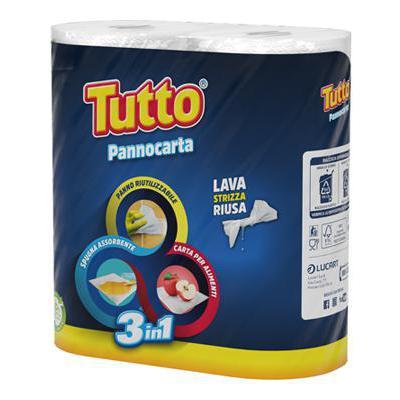 TUTTO PANNOCARTA 3IN1 X2 ROT.COD.821501P
