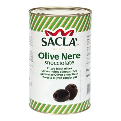 SACLA'OLIVE NERE SNOCCIOLATE KG.5 LATTA