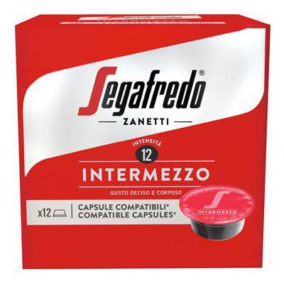 SEGAFREDO INTERMEZZO 12 CAPS COMPATIBILE A MODO MIO