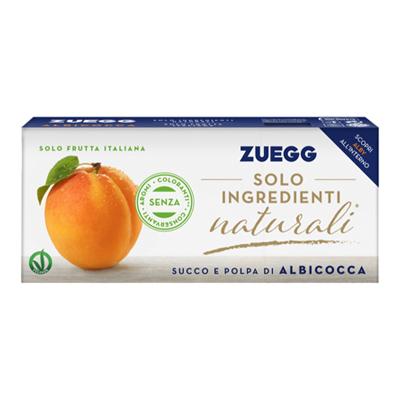 ZUEGG SUCCO ALBICOCCA ML.200X3