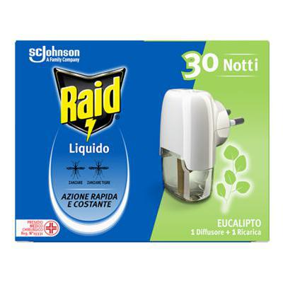 RAID LIQUIDO BASE 30 NOTTI EUCALIPTO