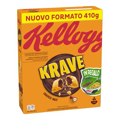 KELLOGG'S KRAVE CHOCO NUT GR.320