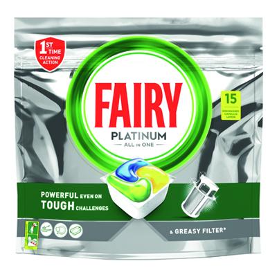 FAIRY PLATINUM LEMON 15 CAPS