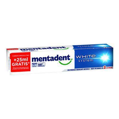 MENTADENT DENTIFRICIO WHITE SYSTEM ML.75 O.S.