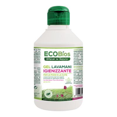 ECOBIOS GEL LAVAMANI IGIENIZZANTE ML.250