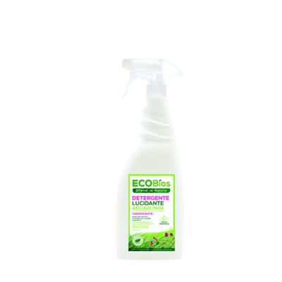 ECOBIOS SPRAY DETERGENTE LUCIDANTE ACCIAIO INOX GR.750